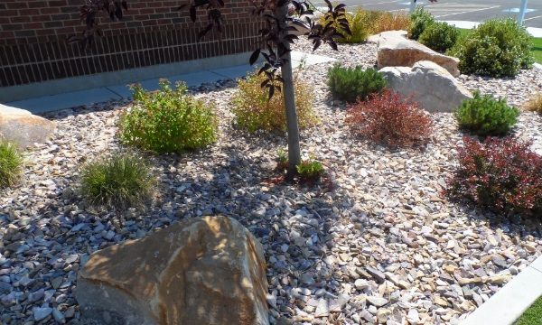 Crushed Rock Landscaping : South town crushed rock utah landscaping