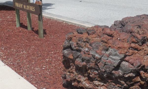 Cherokee red utah landscaping rock for Landscaping rocks tooele utah