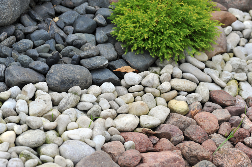 rock features landscaping upgrades